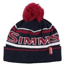 Теплая двухслойная шерстяная шапка с флисовой подкладкой Simms Wildcard