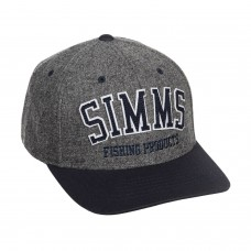 Теплая шерстяная шапка бейсболка Simms Wool Varsity Baseball Cap