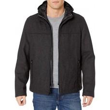Стильная теплая шерстяная куртка с капюшоном Tommy Hilfiger Wool Blend Jacket