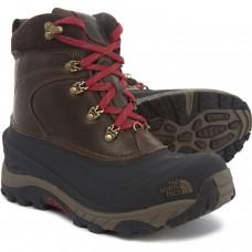Зимние теплые кожаные водонепроницаемые ботинки The North Face Chilkat II Luxe Boot