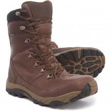 Зимние теплые водонепроницаемые кожаные ботинки The North Face Chilkat Leather Tall Boots