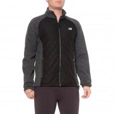 Флисовая кофта New Balance Diamond-Quilted Sweater Fleece Jacket