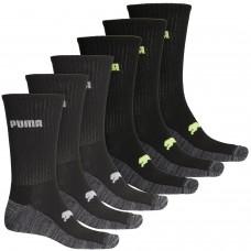 Влагоотводящие термоноски для теплой и жаркой погоды Puma Half-Terry Cushion Performance Socks - 6-Pack