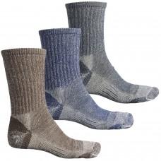 Теплые влагоотводящие термоноски Omni Wool Merino Wool Light Hiking Socks - 3-Pack, Made in USA