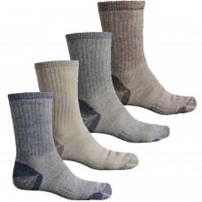 Теплые влагоотводящие термоноски Omni Wool Merino Wool Hikers Socks - 4-Pack, Midweight Made in USA