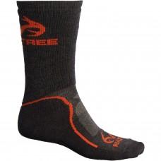 Теплые влагоотводящие термоноски Realtree Outdoor-Performance Hiking Socks - Merino Wool, Midweight Made in USA