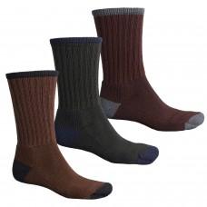 Tеплые термоноски Wigwam Range Merino Wool Blend Medium Socks - 3-Pack - Made in USA